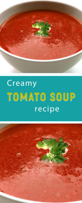 creamy tomato soup recipe easy
