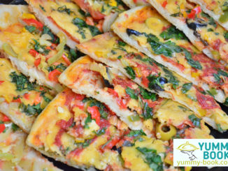 a vegetable pizza recipe
