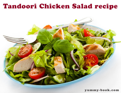 easy tandoori chicken salad recipe