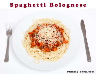 spaghetti bolognese recipe easy