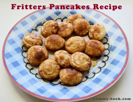 pancake fritters recipe