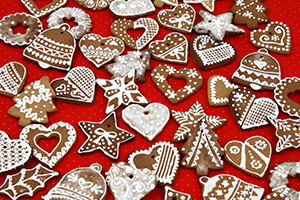 Gingerbread cookies recipe with icing