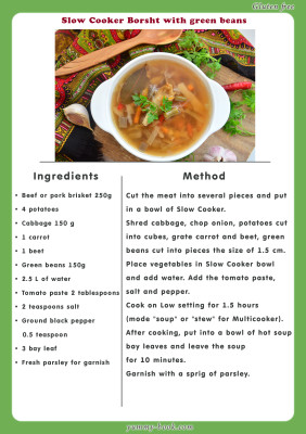 slow cooker borscht recipes