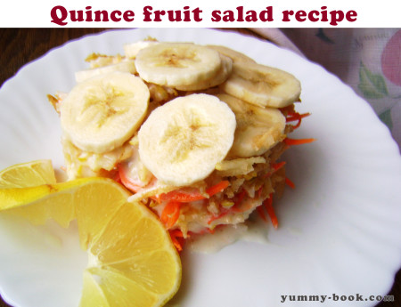 quince fruit salad