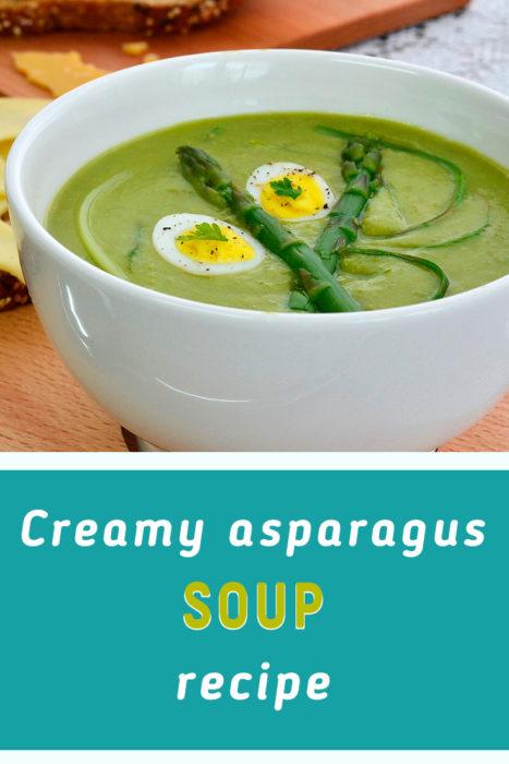 asparagus soup puree recipe