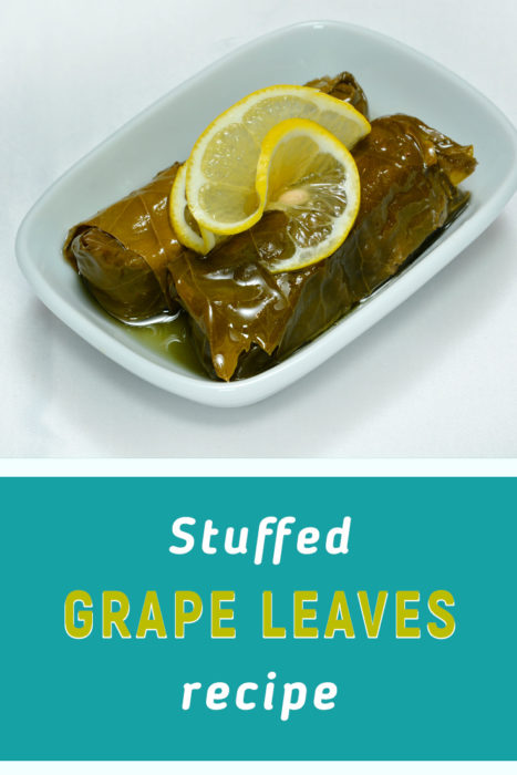 a recipe for stuffed grape leaves