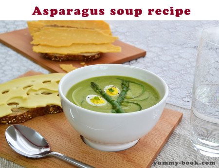 asparagus soup puree recipe