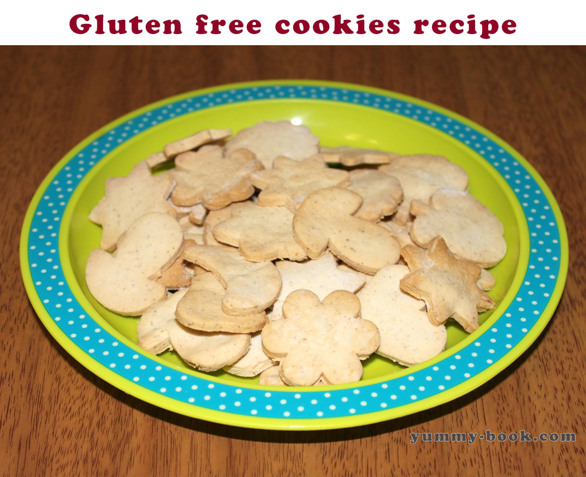 Gluten free cookies recipe - Yummy-book