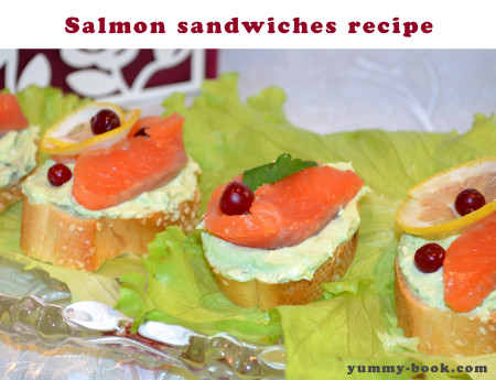 salmon appetizer recipe