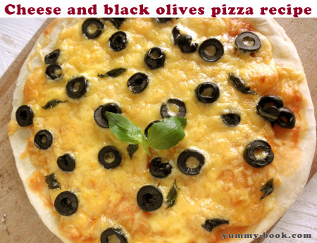cheese pizza recipe easy