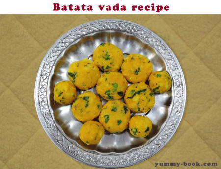 how to make batata vada recipe