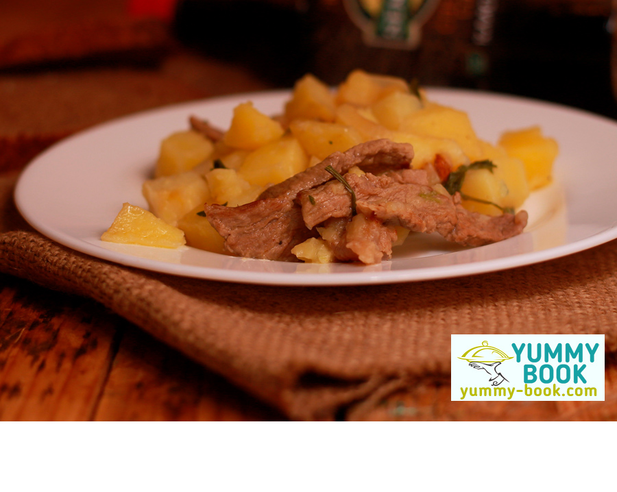 Multi Cooker beef and potato recipe