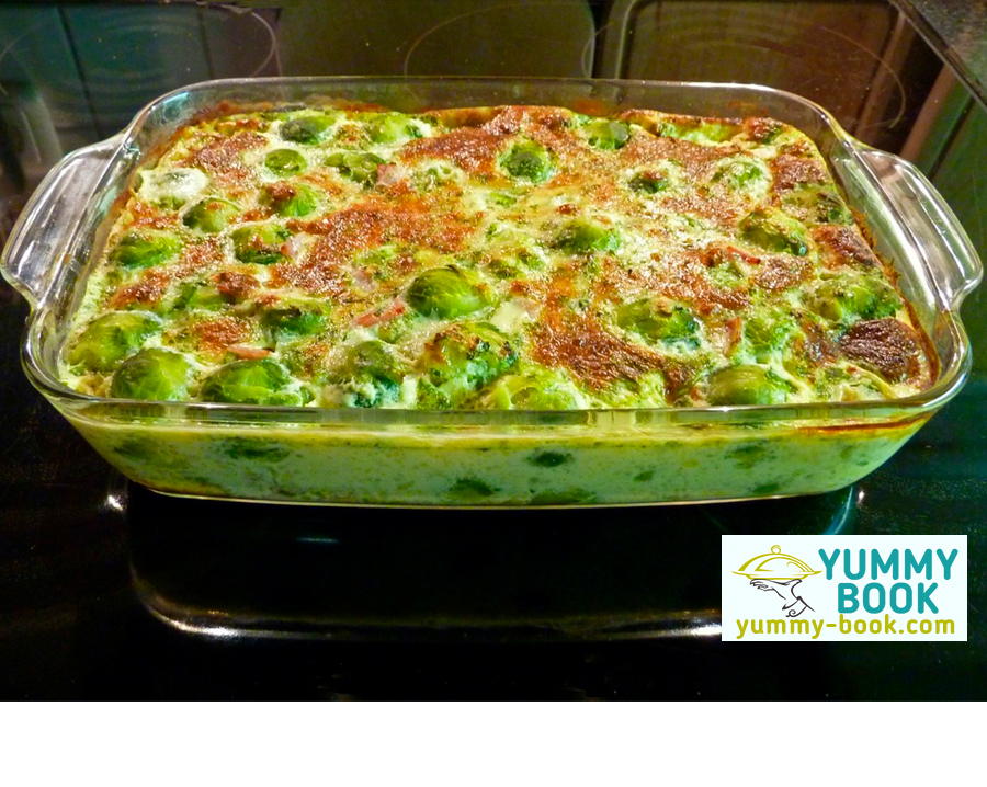 Brussels sprouts casserole recipe
