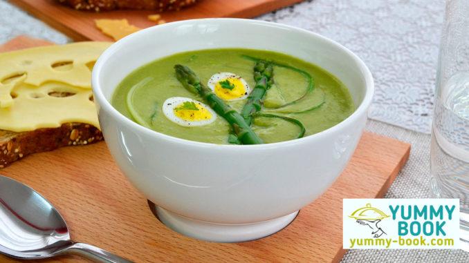 recipe for asparagus soup