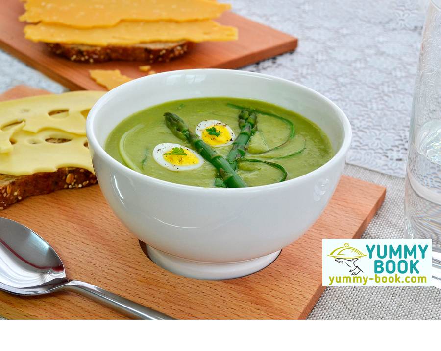 Creamy asparagus soup recipe quick and easy