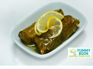 stuffed grape leaves appetizer