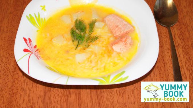 salmon soup recipe easy