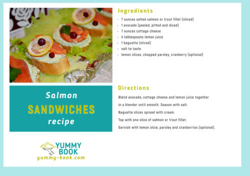 salmon sandwiches recipe