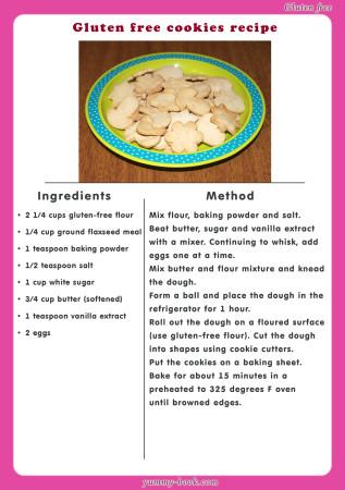 gluten free cookies recipe