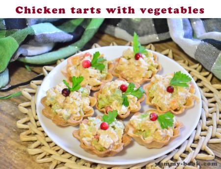 chicken mini tarts recipe