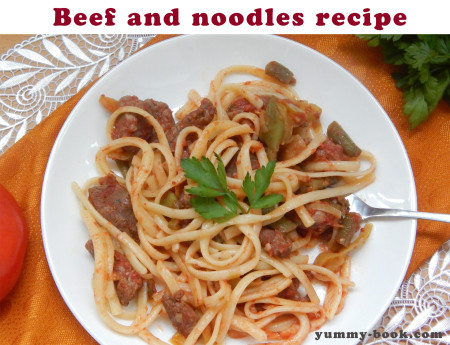 beef and noodle recipe