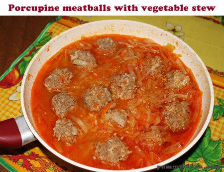 recipe for porcupine meatballs