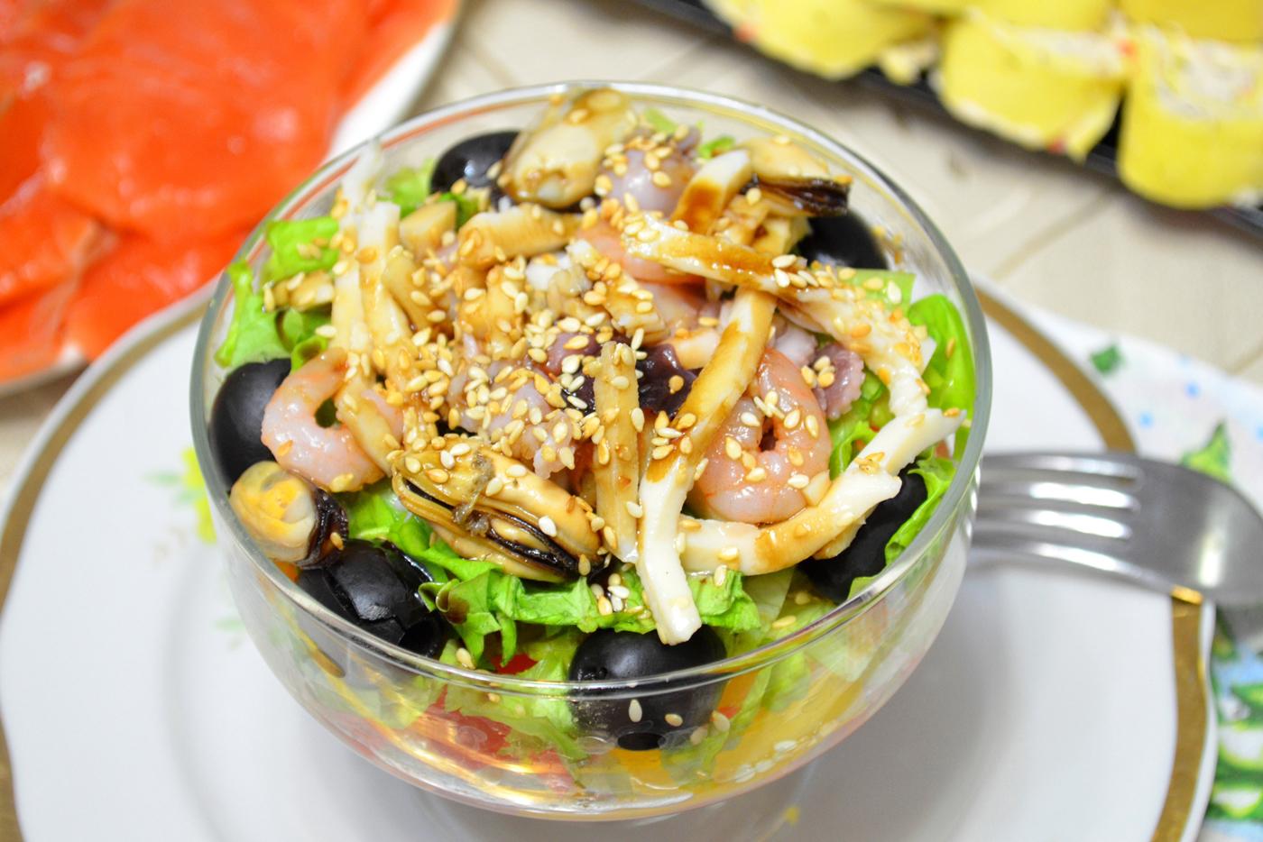 seafood recipe salad