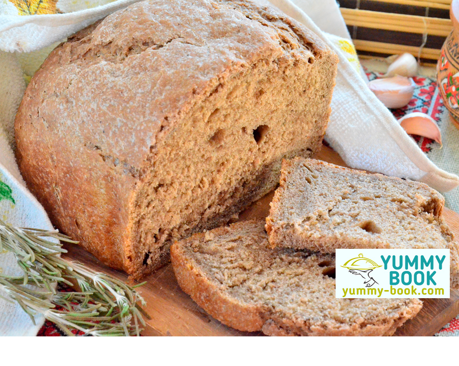 Rye bread with caraway seeds recipe for oven