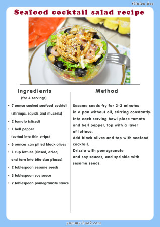 seafood cocktail salad recipe