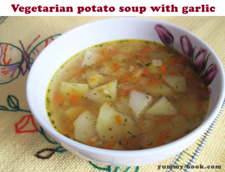 veggie potato soup recipe