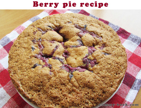 berry pie recipe easy