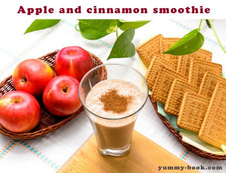 healthy apple cinnamon smoothie recipe