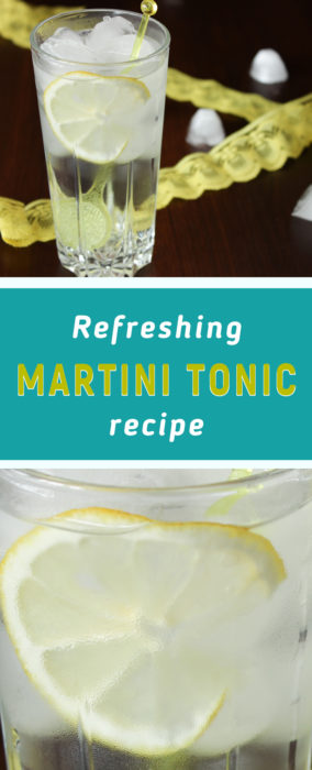 Martini recipe cocktail