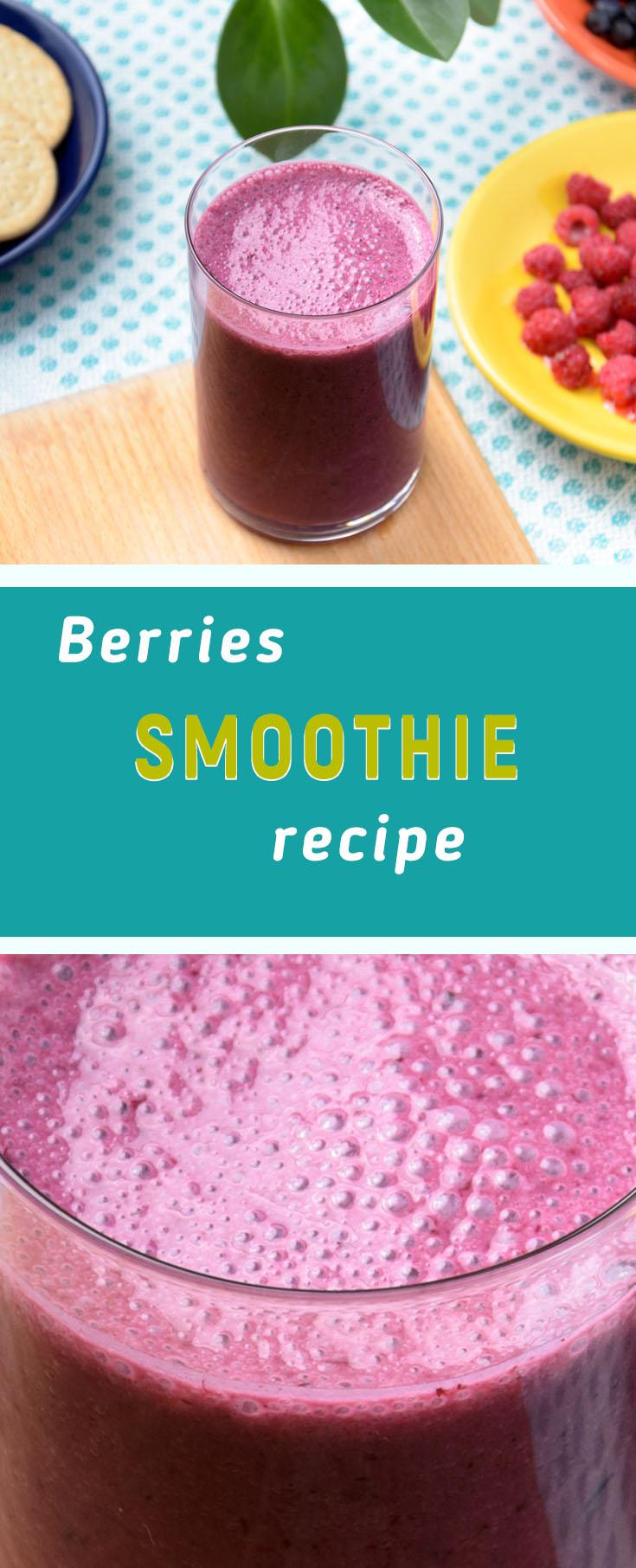 raspberry blueberry smoothie recipe