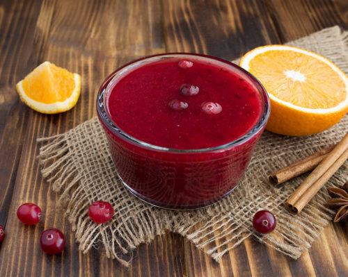 cranberry sauce recipe easy