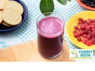 raspberry and blueberry smoothie recipe