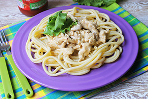 chicken and pasta recipes no cheese