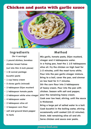 chicken and pasta recipe