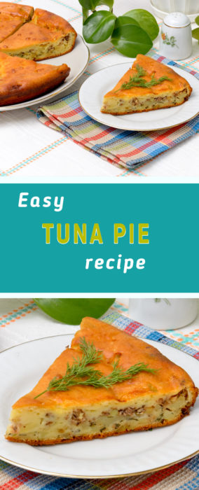 Tuna and potato pie recipe