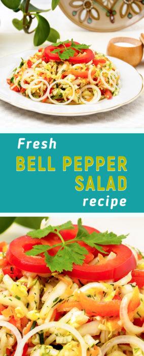 Easy vegetable salad recipe