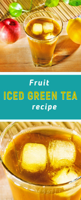 Homemade fruit iced tea recipe