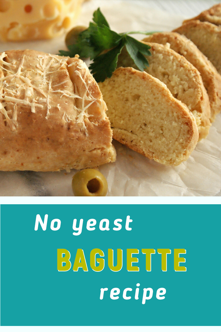 Baguette recipe without yeast