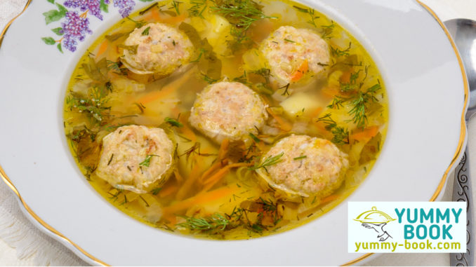 meatball soup recipe with potatoes