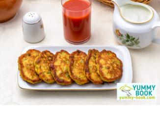 zucchini carrot fritters recipe