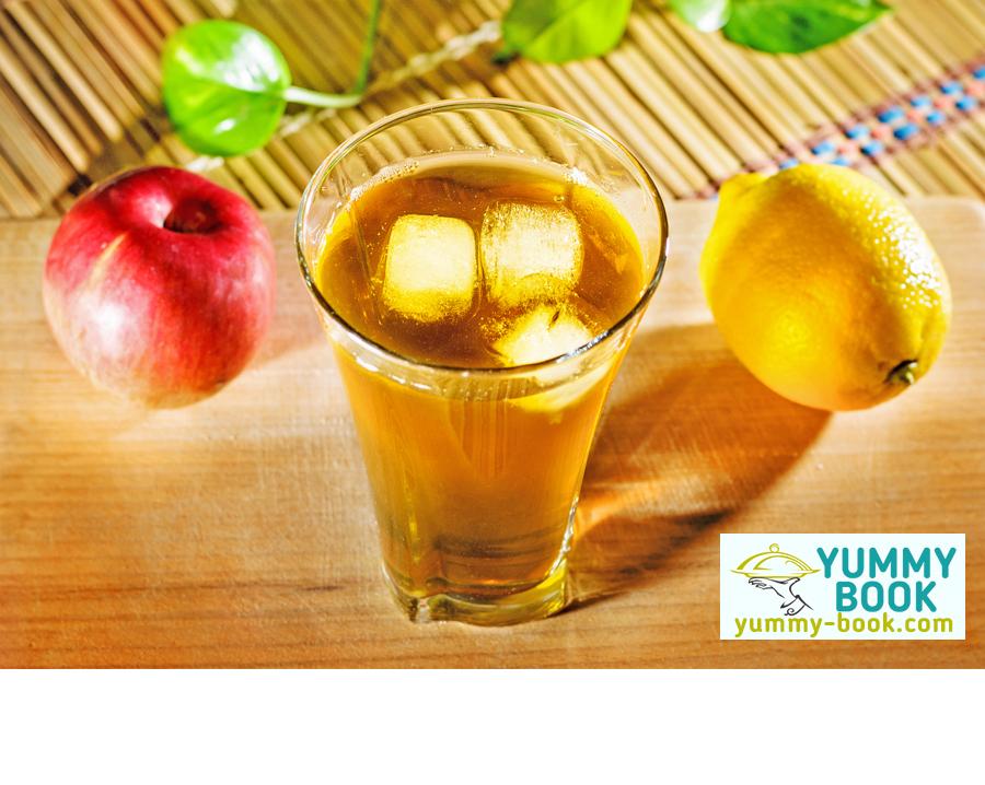 Fruit iced green tea recipe