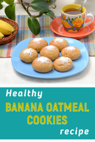 Banana oatmeal cookies recipe no flour