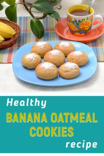 Banana oatmeal cookies recipe no flour
