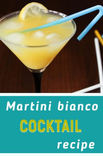 Martini bianco drink recipe