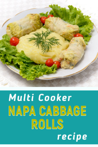 Recipe for napa cabbage rolls