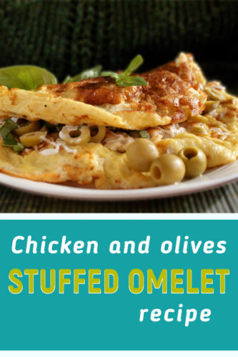 Chicken omelet recipe